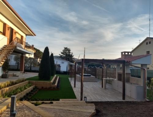 Jardín para el relax en Llinars del Vallés